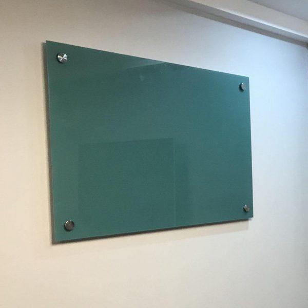 تخته وایت برد شیشه ای رنگی