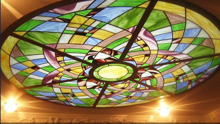 کاربرد شیشه دکوراتیو در سقف کاذب