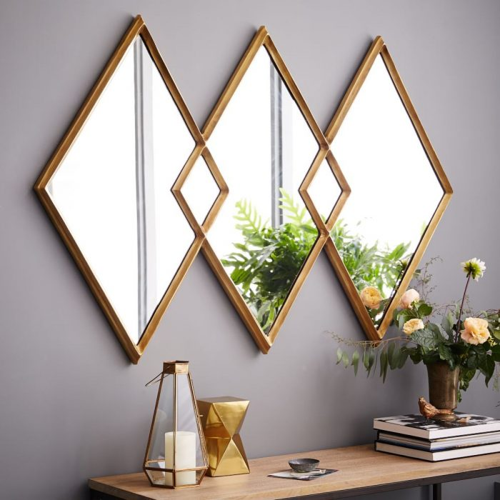 کاربردهای خلاقانه آینه کاری در دکوراسیون داخلی - عکسنگ کاربرد آینه کاری  مدرن در منزل