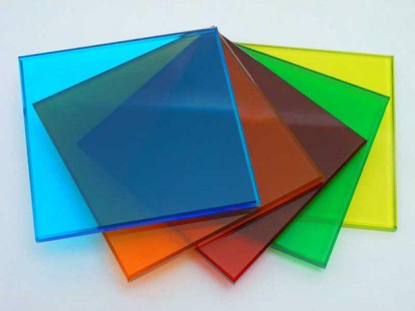 شیشه دکوراتیو لمینت رنگی